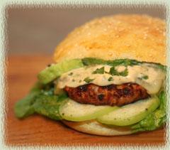 Chipotle Pork Cheeseburgers