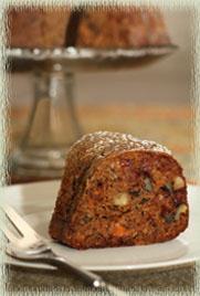 Fuyu Persimmon Bundt Cake