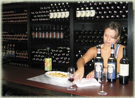 Brunello Wine Tasting In Montalcino