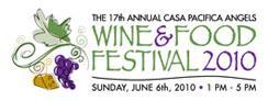 Casa Pacifica Angels Wine & Food Festival Logo