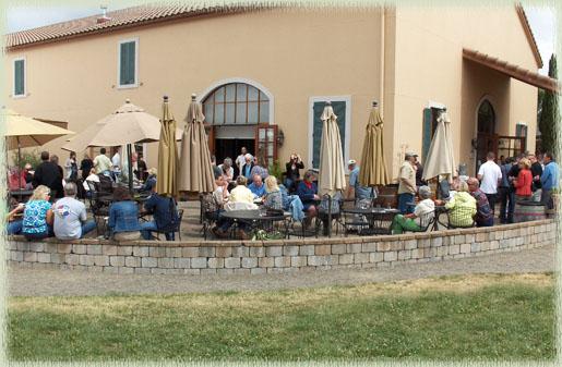 Cana's Feast Patio Scene