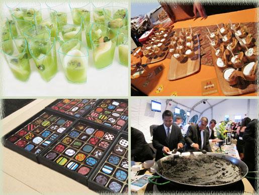 Mystery Taste; Butterscotch Budino; Handmade Organic Truffles; Preparing Fideua