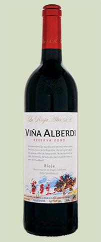 La Rioja Alta 2003 Vina Alberdi Reserva Rioja