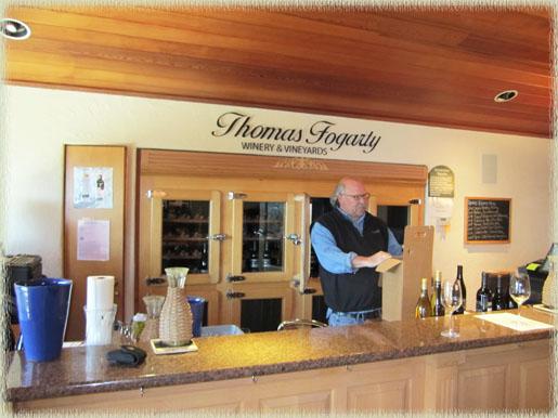 Rick Davis, tasting room manager