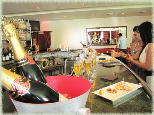 The Bar at La Cachette Bistro