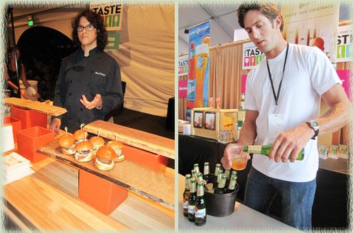 Chef Kerry Simon & Grolsch Beer Stud