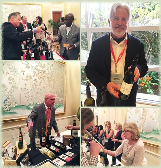 Representatives of Frank Family Vineyards; COHO Wines; Coup de Foudre; Round Pond Estate