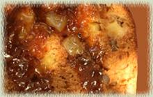 Chipotle Apple Pecan Cake