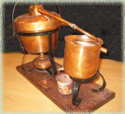 Francoli Miniature Still Display