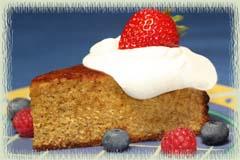 Limoncello Almond Pound Cake
