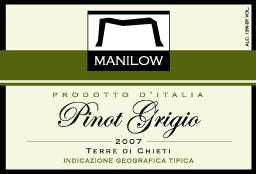 Manilow 2007 Pinot Grigio