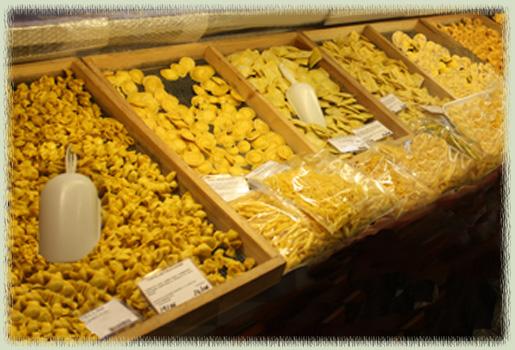 Tamburini Pasta Display
