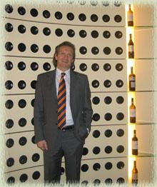 Alessandro Francoli in the Tasting Room