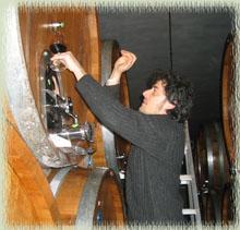 Barrel Tasting the 2006 Vintage